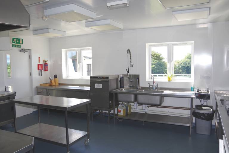 Large group self catering kitchen