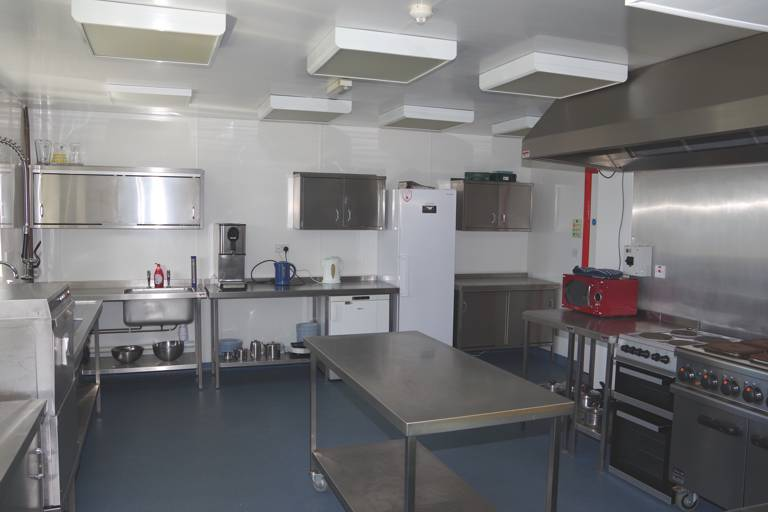 Kitchen fully equipped made available to guests